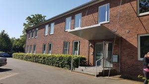 Neue Gebäude der care4as in FLensburg