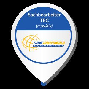 Jobangebot KDW Greifswald GmbH Sachbearbeiter Technisch