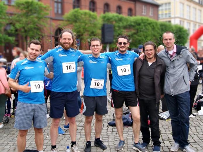 Das KDW-Team Citylauf Greifswald am 11.05.2018
