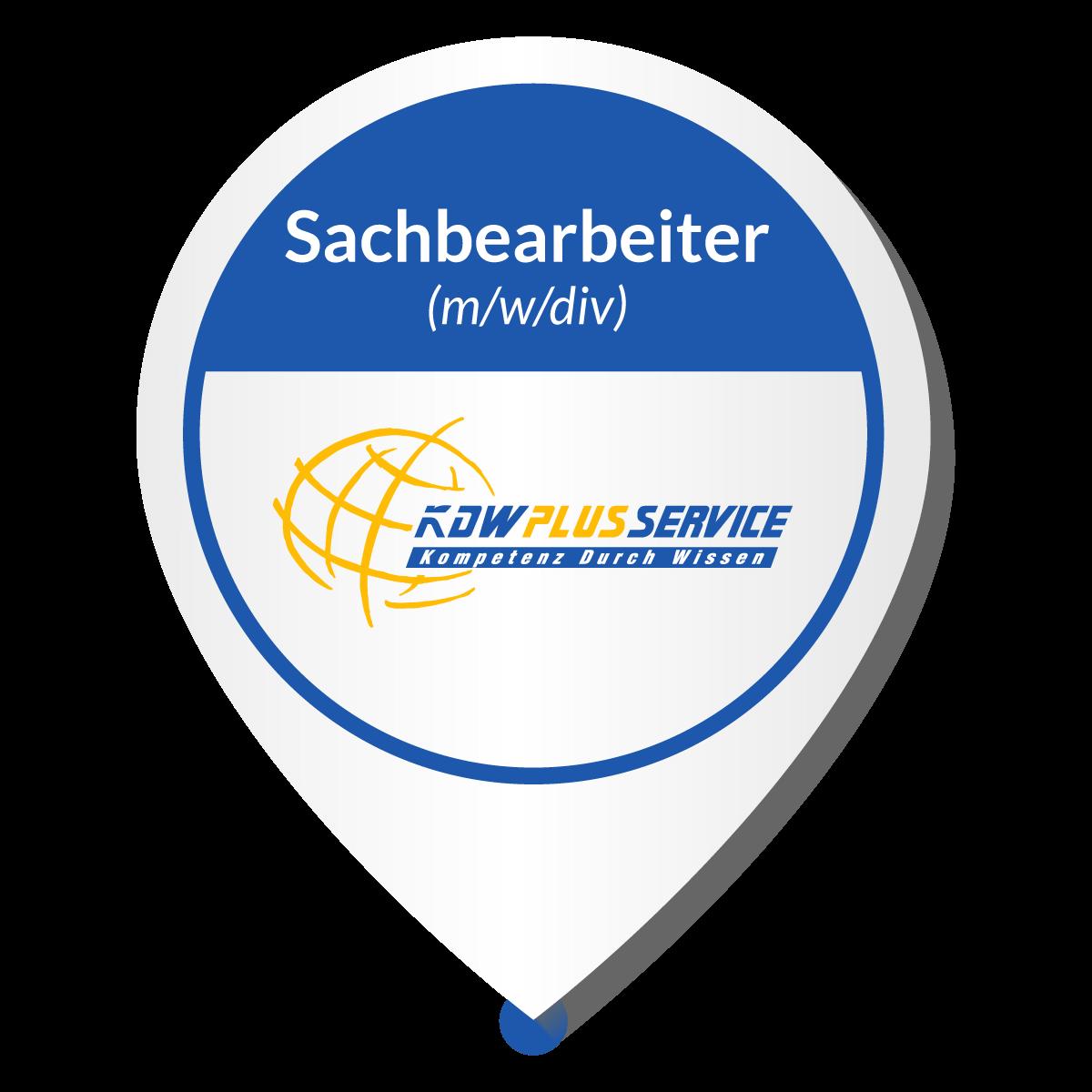 Jobangebot Sachbearbeiter (m/w/div) KDW Plus Service GmbH Sachbearbeiter