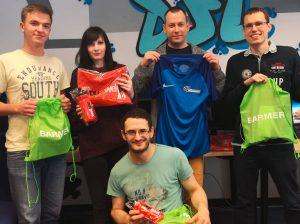KDW gewinnt bei der Tombola vom Citylauf Greifswald
