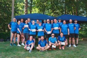 KDW Greifswald, dritte Teilnahme am Spendenlauf in Greifswald